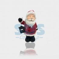 505-014 Керамическая фигурка «Дед Мороз с фонарем» 29х21х46.5 см