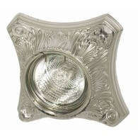 Светильник гипсовый Roden Light RD-009 S серебро