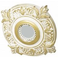 Светильник гипсовый Roden Light RD-010 WH/G белый с золотом