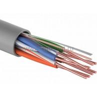 01-0052-25 Кабель UTP PROconnect 4PR 24AWG, CU (медь), CAT5E, 100 МГц, PVC, серый, бухта 25 м