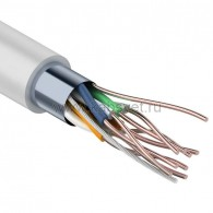 01-0142-3-25 Кабель FTP PROconnect 4PR 24AWG, CCA, CAT5e, PVC, серый, бухта 25 м