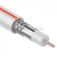 01-2401-2-50 Кабель коаксиальный PROconnect SAT 50M, 75 Ом, CCS/Al/Al, 75%, бухта 50 м, белый