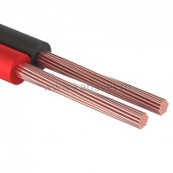 01-6101-3 Кабель акустический ШВПМ Rexant 2х0,25 мм², красно-черный, бухта 100 м