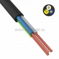 01-8043-4 Провод соединительный ПВС 3х0,75 мм² 200 м черный ГОСТ 7399-97