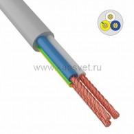01-8044-4 Провод соединительный ПВС 3x1,0 мм² 200 м белый ГОСТ 7399-97