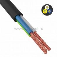 01-8045-4 Провод соединительный ПВС 3x1,0 мм² 200 м черный ГОСТ 7399-97