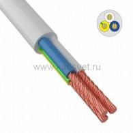 01-8049-4 Провод соединительный ПВС 3x2,5 мм² 100 м черный ГОСТ 7399-97