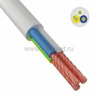 01-8050-4 Провод соединительный ПВС 3х4,0 мм² 100 м белый ГОСТ 7399-97