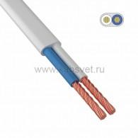 01-8082-6 Провод ШВВП 2х0,5 мм² 300 м белый ГОСТ 7399-97