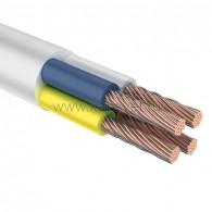 01-8207-1 Провод соединительный ПВС 4х2,5 мм² 100 м белый ГОСТ 7399-97