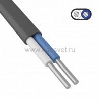 01-8750 Кабель силовой алюминиевый АВВГ-П 2x2,5 мм² 200 м ГОСТ 31996-2012, ТУ 16-705.499-2010