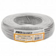 01-0142-3-50 Кабель FTP PROconnect 4PR 24AWG, CCA, CAT5e, PVC, серый, бухта 50 м