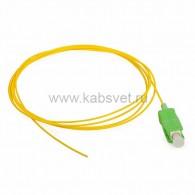 50-5001-1 Пигтейл волоконно-оптический SM 9/125 SC/APC 1,5м PVC
