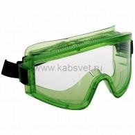 09-0909 Очки защитные закрытые с прямой вентиляцией ЗП2 PANORAMA (PL)