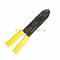 12-3033 Кримпер для обжима наконечников и зачистки проводов (ht-204) Rexant
