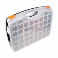 12-5021-4 Ящик пластиковый универсальный (двойной) PROconnect, 425х330х85 мм