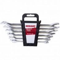 12-5843 Набор ключей рожковых 8-19 мм 6 предметов Rexant