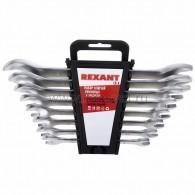 12-5844 Набор ключей рожковых 8-24 мм 8 предметов Rexant