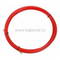 47-1020 Протяжка кабельная Rexant (мини УЗК в бухте), стеклопруток, d=3,5 мм, 20 м, красная