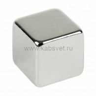 72-3208 Неодимовый магнит куб 8х8х8 мм сцепление 3,7 кг (Упаковка 4 шт) Rexant