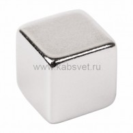 72-3210 Неодимовый магнит куб 10*10*10мм сцепление 4,5 кг (Упаковка 2 шт) Rexant