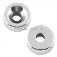 72-3601 Неодимовый магнитный диск 10х3 мм с зенковкой 7х3,5 мм (упаковка 6 шт.)