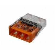 07-5132 2273-203 Экcпресс-клемма, 3-проводная до 2,5 мм², (100 шт./уп.) WAGO