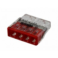 07-5133 2273-204 Экcпресс-клемма, 4-проводная до 2,5 мм², (100 шт./уп.) WAGO