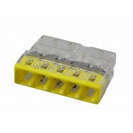07-5134 2273-205 Экcпресс-клемма, 5-проводная до 2,5 мм², (100 шт./уп.) WAGO