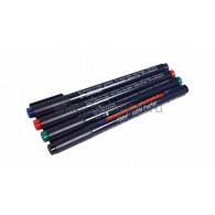 09-3997 Набор маркеров E-84074S 0.3 мм (для маркировки кабелей) набор: черный, красный, зеленый, синий