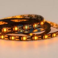 141-382 LED лента с USB коннектором 5 В, 8 мм, IP65, SMD 2835, 60 LED/m, цвет свечения желтый