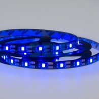 141-383 LED лента с USB коннектором 5 В, 8 мм, IP65, SMD 2835, 60 LED/m, цвет свечения синий