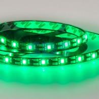 141-384 LED лента с USB коннектором 5 В, 8 мм, IP65, SMD 2835, 60 LED/m, цвет свечения зеленый