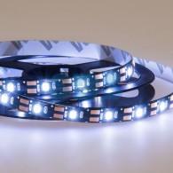 141-385 LED лента с USB коннектором 5 В, 8 мм, IP65, SMD 2835, 60 LED/m, цвет свечения белый (6500 K)