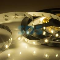 141-526 LED лента 12 В, 6 мм, S-образная плата, IP23, SMD 2835, 60 LED/m, цвет свечения теплый белый (3000 К)