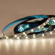 141-527 LED лента 12 В, 6 мм, S-образная плата, IP65 (напыление силикона), SMD 2835, 60 LED/m, цвет свечения белый (6000 К)