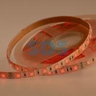 141-636 LED лента 24 В, 10 мм, IP65, SMD 5050, 60 LED/m, цвет свечения RGB