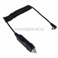 16-0234 Автозарядка с индикатором (разъем 2.5х5.5) (АЗУ) шнур спираль 1.5 м Rexant