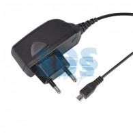16-0269 Сетевое зарядное устройство microUSB 220 В (СЗУ) (5 V, 1000 mA) шнур 1 м черное Rexant