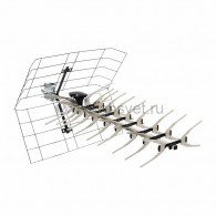 34-0413 ТВ антенна наружная «Активная» для аналогового и цифрового ТВ - DVB-T2 (модель RX-413) (коробка) Rexant