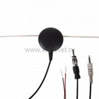 34-0504 Антеннa автомобильная внутрисалонная (радио + ТВ), активная (модель RX-504) Rexant