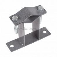 34-0594 Кронштейн для мачт плоский 100 мм П-образный Rexant