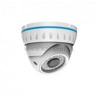 45-0143 Купольная уличная камера AHD 1.3Мп (960P), объектив 2.8-12 мм., ИК до 30 м.
