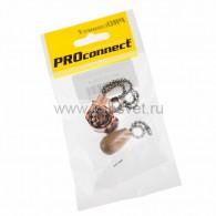 32-0105-9 Выключатель для настенного светильника c деревянным наконечником «Silver» индивидуальная упаковка 1 шт. PROconnect