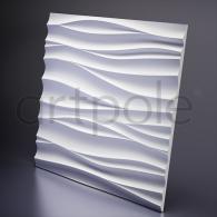 Гипсовая панель SvDekor Silk + Led 600x600x28 мм