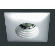Гипсовый светильник SvDecor SV 7012 белый ф122 мм
