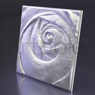 Гипсовая панель SvDekor Rose Пятый Элемент 600x600x47 мм