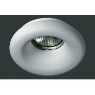 Гипсовый светильник SvDecor SV 7015 белый ф107 мм