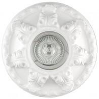 Гипсовый светильник SvDecor SV 7042 белый ф135 мм