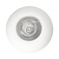 Гипсовый светильник SvDecor SV 7024 белый ф98 мм